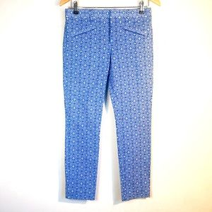 NWT GAP Blue Skinny Ankle Mid Rise Pants 2